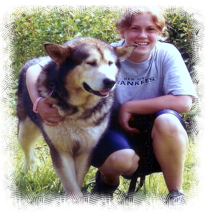 Alaskan Malamute Loving Powered By God Kennel